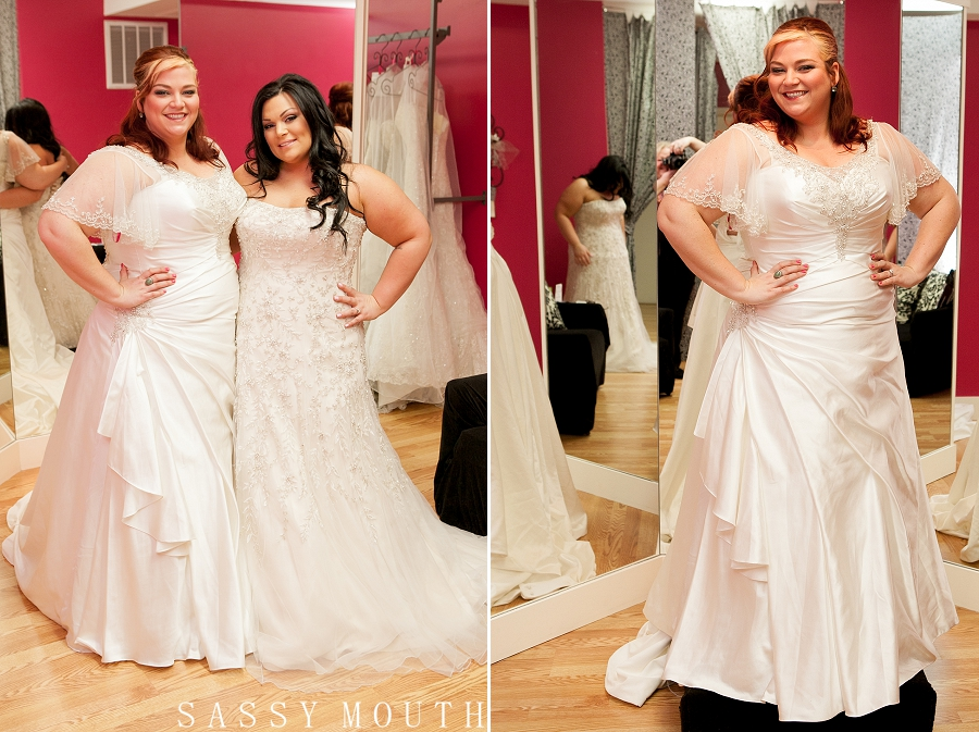 Roz La Kelin Glamour Plus Wedding Gowns {Bliss Bridal – Cheshire, CT ...