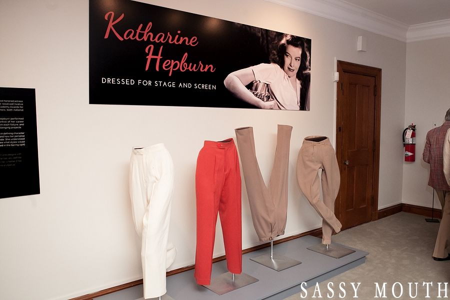 Katharine Hepburn Costume Exhibit Hartford CT Historical Society Sassy Mouth Photography