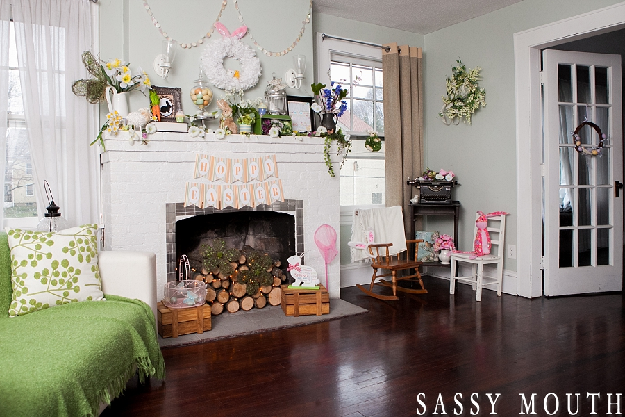 Spring & Easter Decor 2014 {The Sassy Space – Meriden, CT} Sassy ...