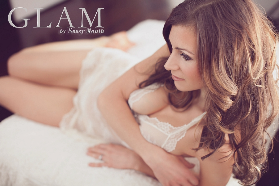 Connecticut Boudoir Photographer GLAM by Sassy Mouth Photography CT Photo Studio Krystalized Designs