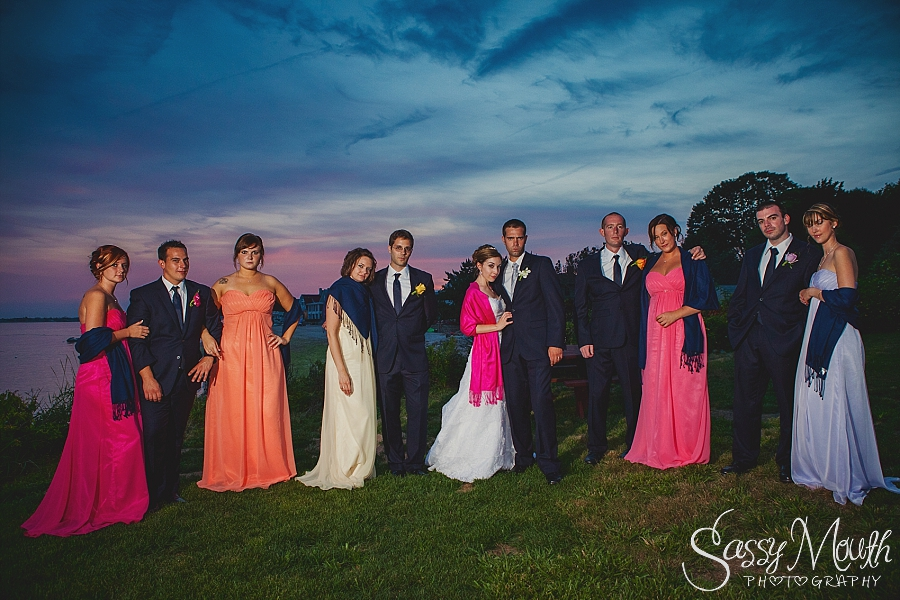 CT Wedding Photographer Waters Edge Resort Sassy Mouth Photography Erin and Ben