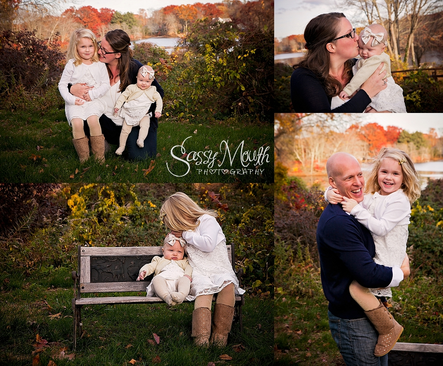 Connecticut large family photographer award winning sassy mouth photography