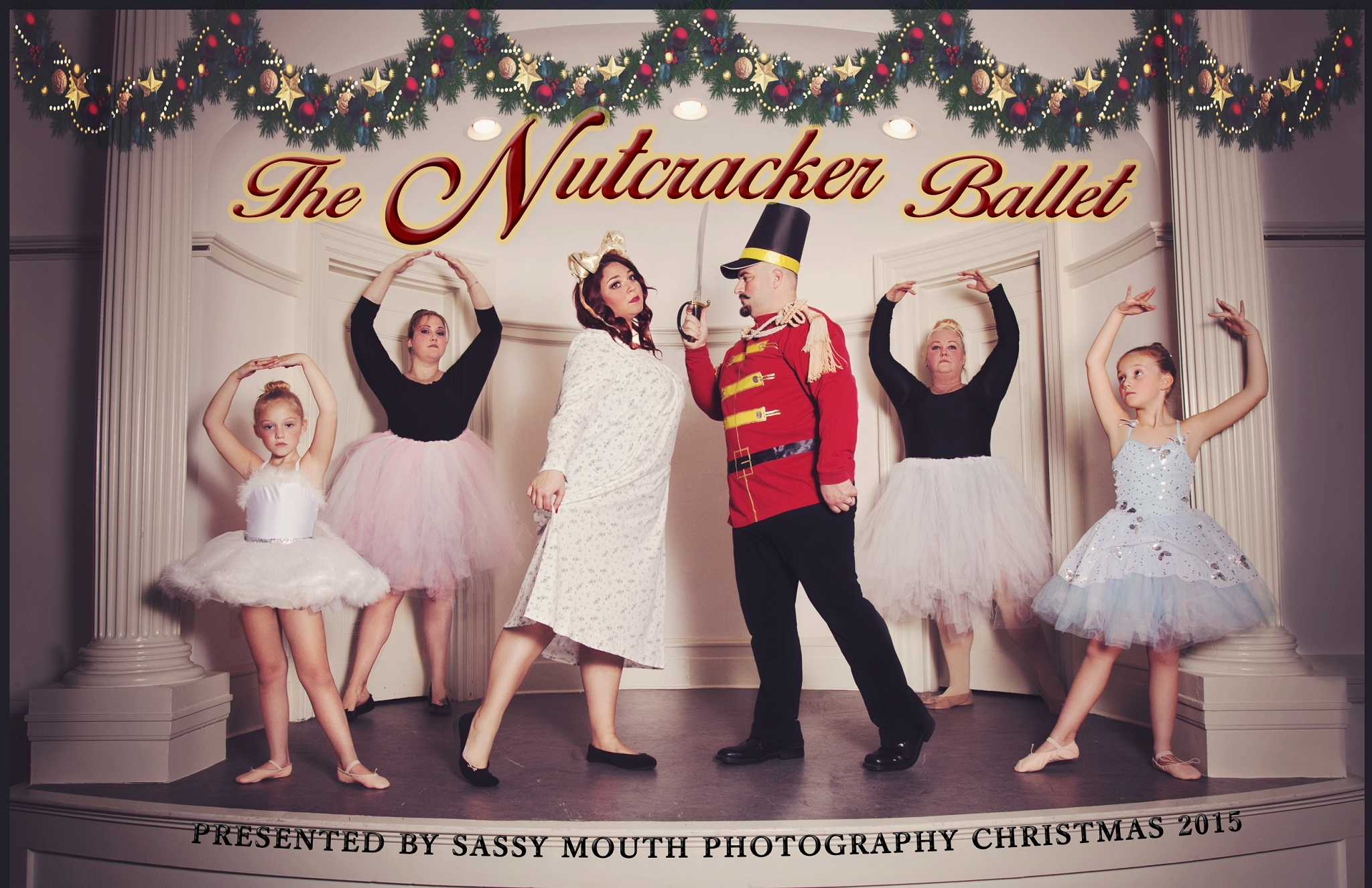 CT Portrait Photography – Christmas Card 2015 The Nutcracker Ballet ...