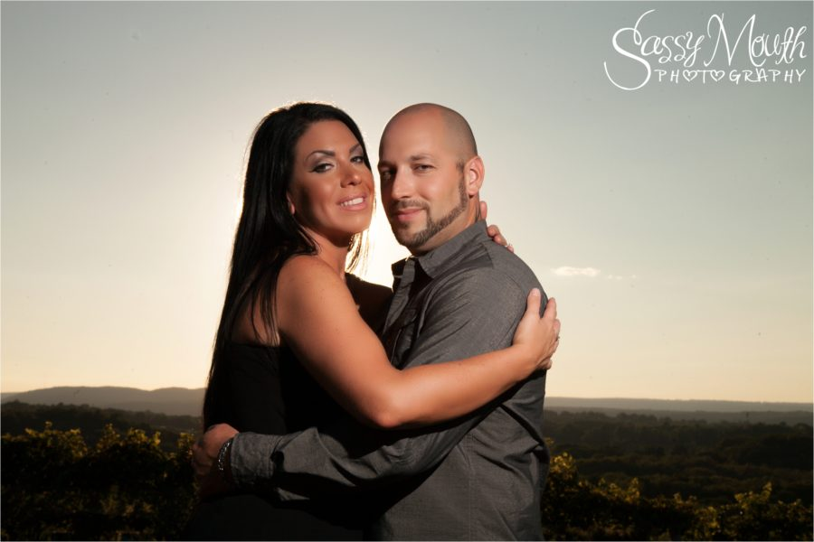CT Vineyard Engagement portrait photoshoot session sassy mouth photo