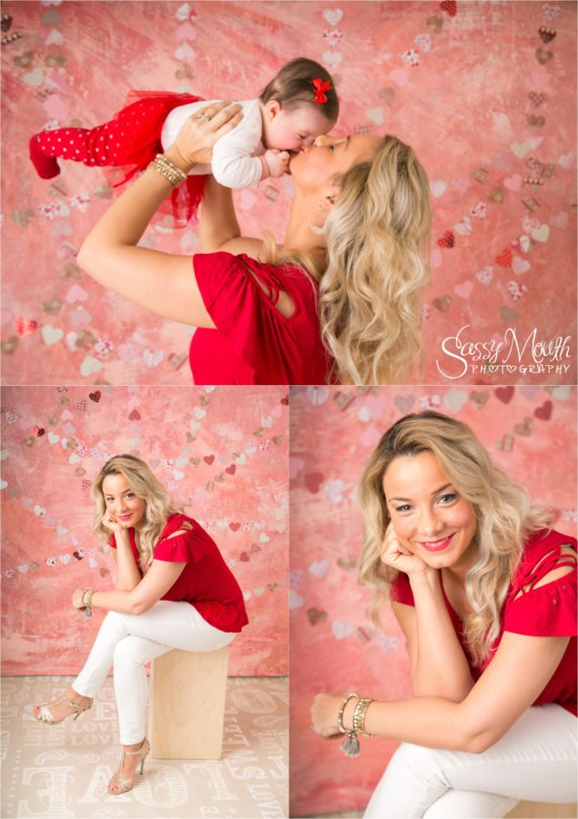 CT Valentine Family Portrait Photo studio Sassy Mouth Photography in Connecticut