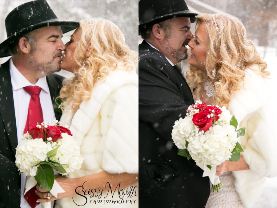 CT Bride Magazine Winter Wedding Sassy Mouth Photography