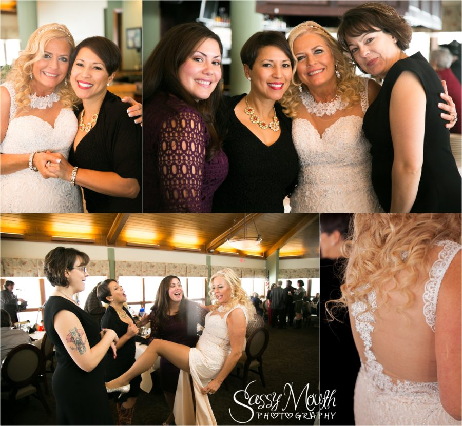 CT Wedding Meriden, Connecticut Violis Hunters Golf Course Sassy mouth Photography