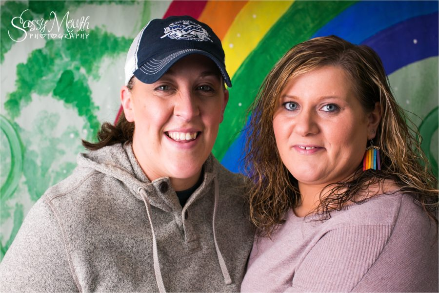 CT Couple Portrait Sassy mouth Photography Rainbow gay pride