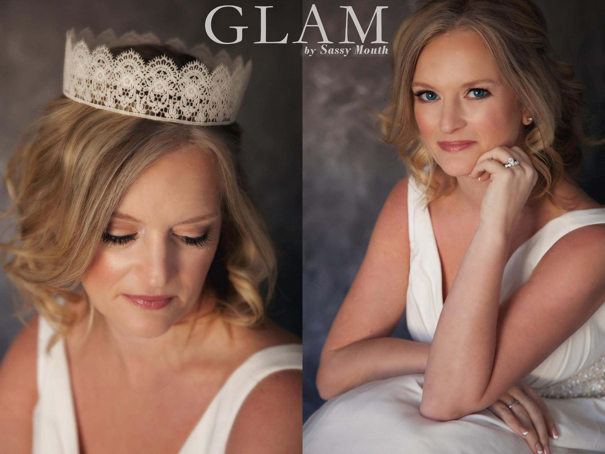 ct bridal portaits – introducing & sassy bride amy {glam by sassy